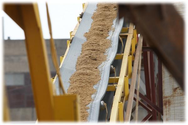 Сухой фракционный песок
